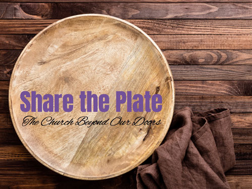 """On the third Sunday of each month, Columbine UU Church """"shares the plate"""" with a non-profit beneficiary."""