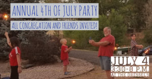4TH of July Picnic/Party @ Off-Site, Dressel's house
